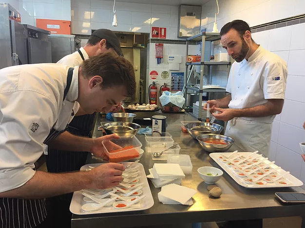 Our Sydney Corporate Catering Molecular Gastronomy Event