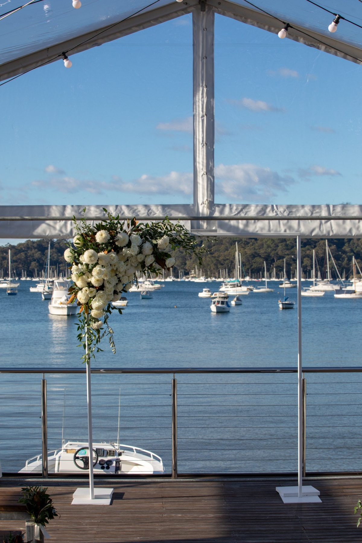 Florals for a northern beaches wedding